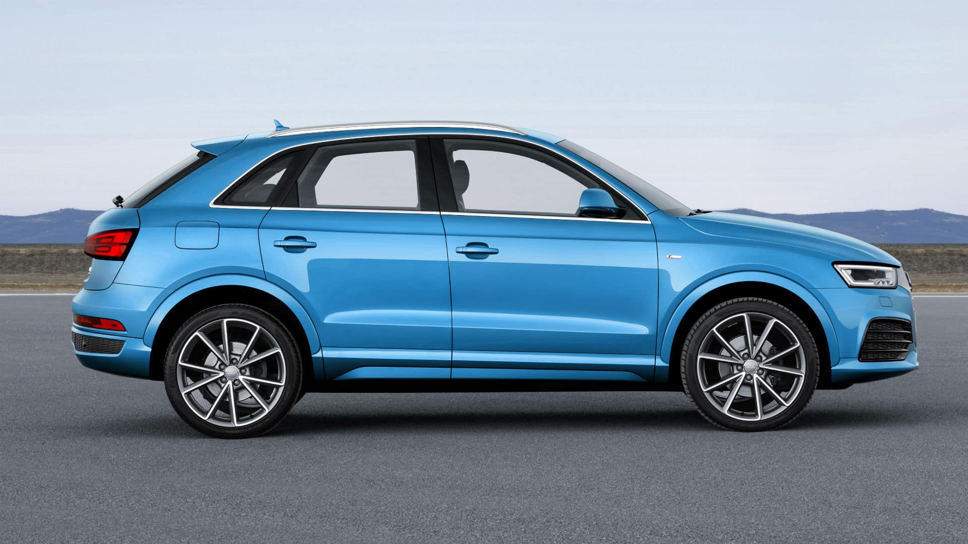 the as audi in suv smallest quarter news geneva more rear arrives automobile brand three brands s show small