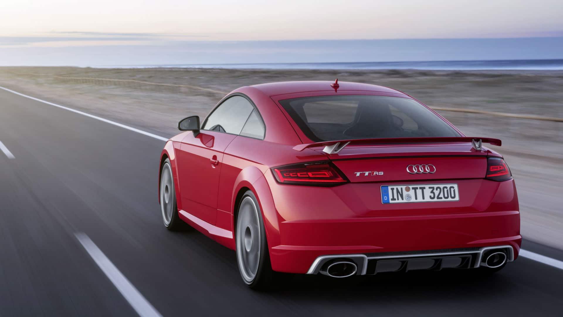 2018 TT RS Coupé > TT > Audi Canada