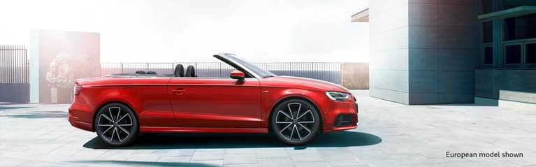 The Audi A3 Cabriolet