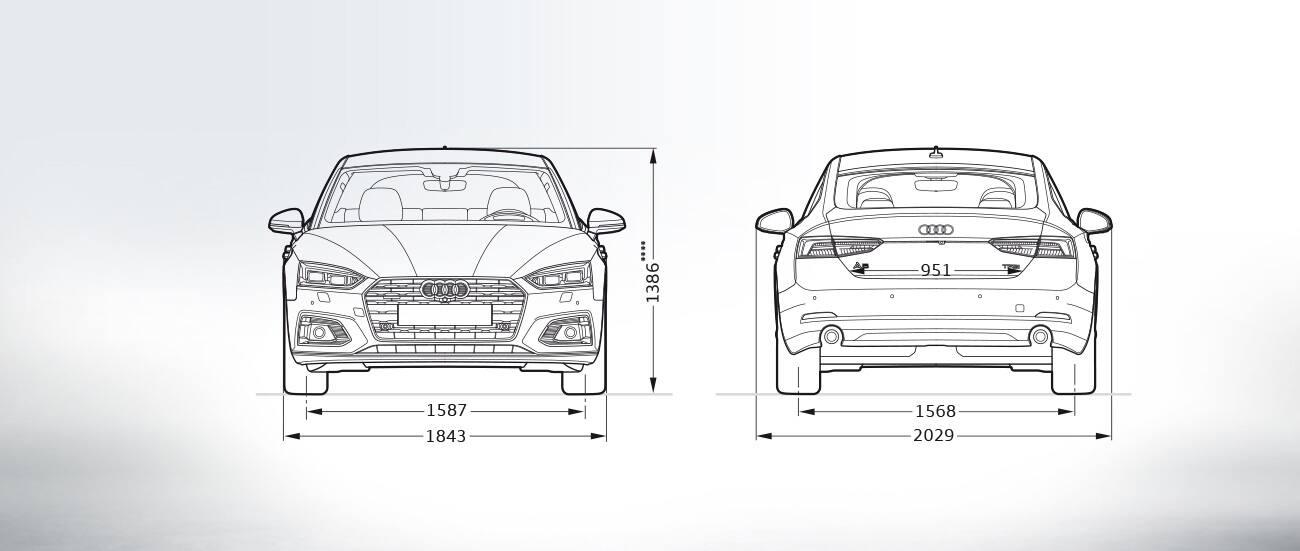 Certified Pre Owned Audi Q5 >> Layer: Dimensions > 2019 A5 Sportback > A5 > Audi Canada