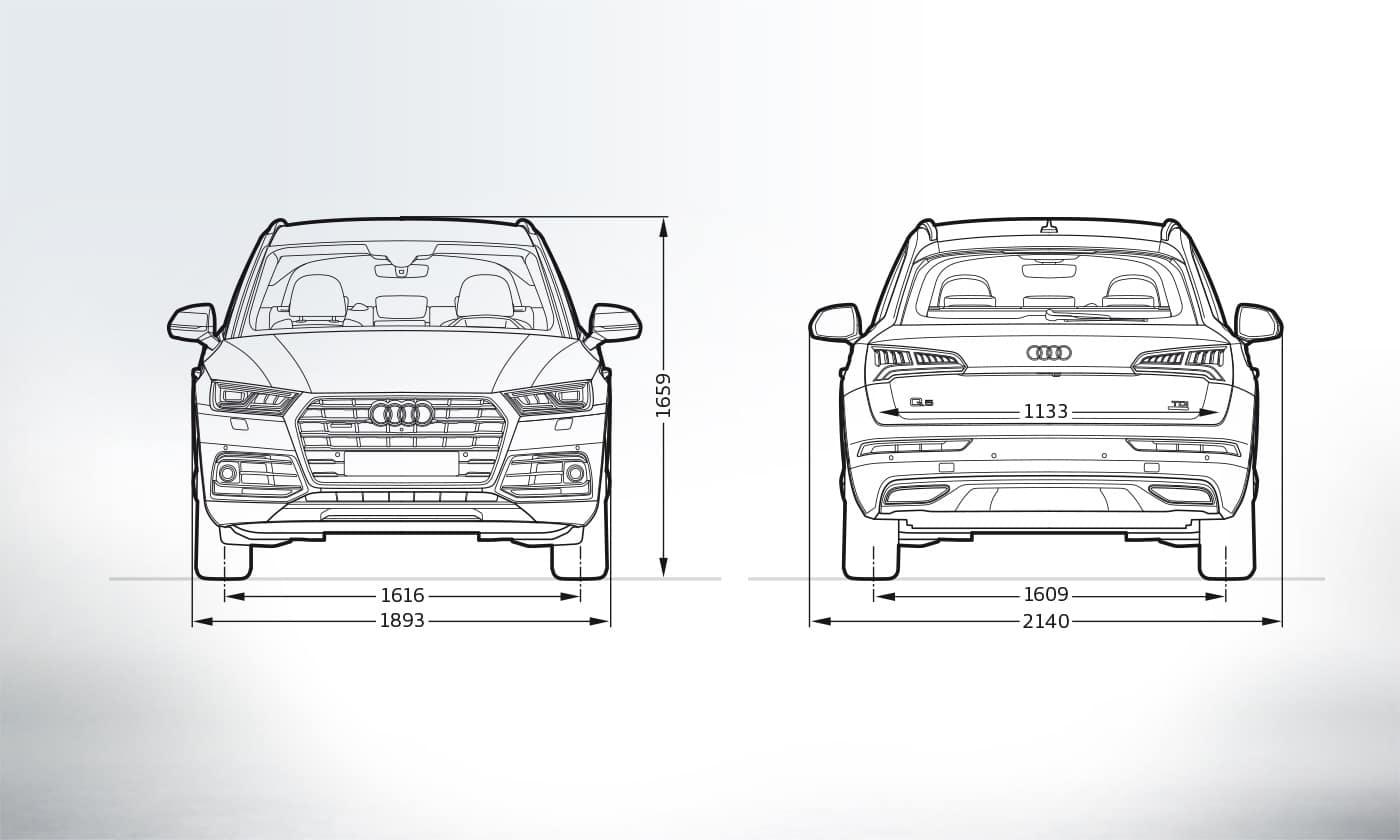 Build Audi Q5 >> Layer: Dimensions > 2019 Q5 > Q5 > Audi Canada