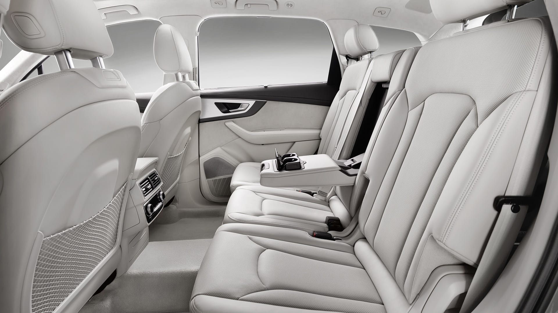 european model shown interior the audi q7