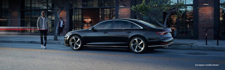 The 2019 Audi A8