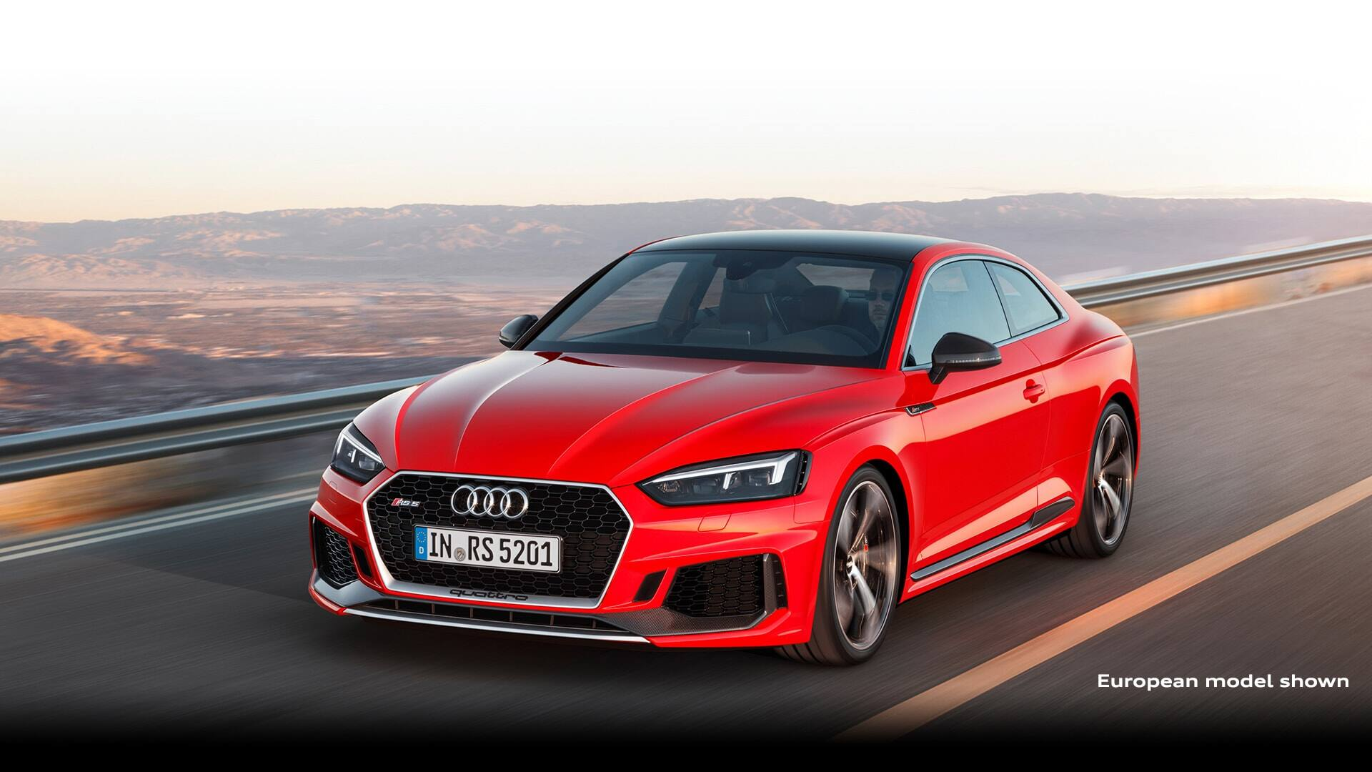 The Audi RS 5 Coupé