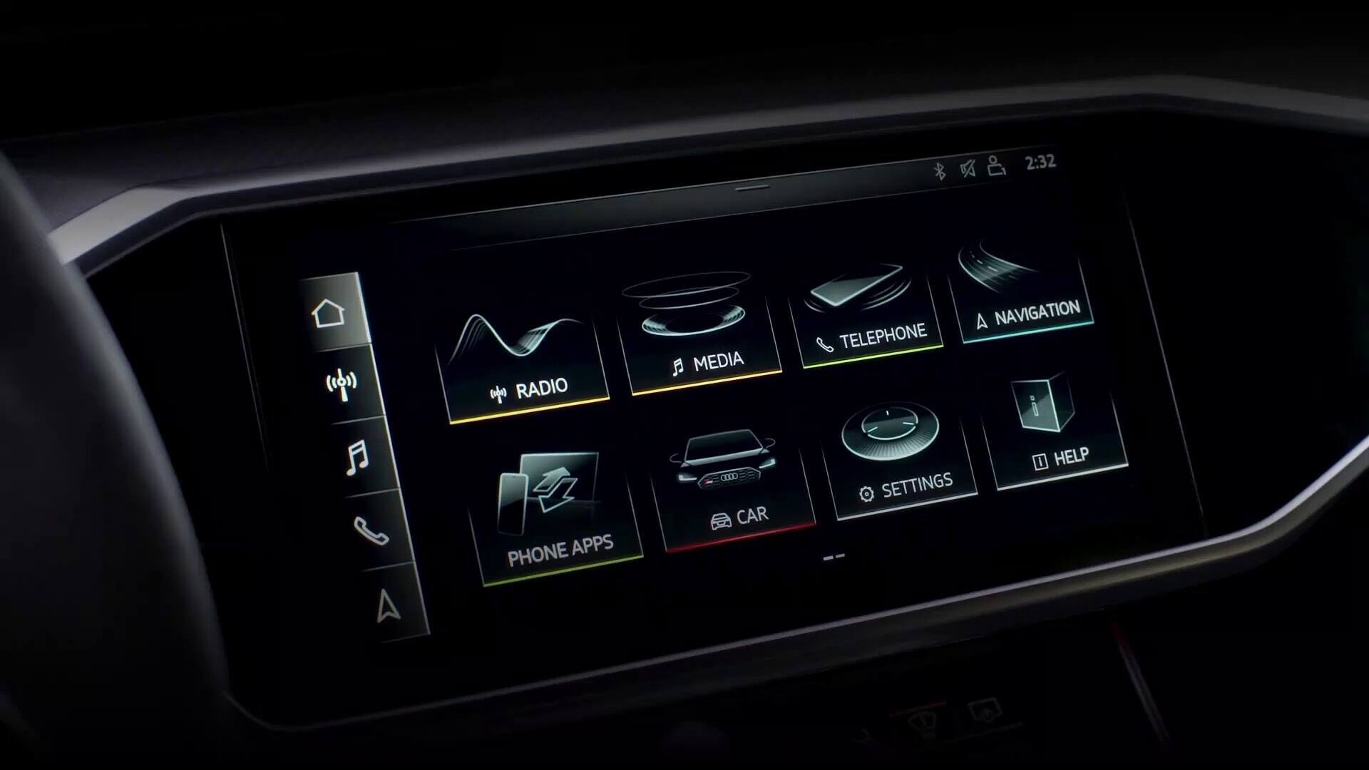 RS 7 MMI Touchscreen